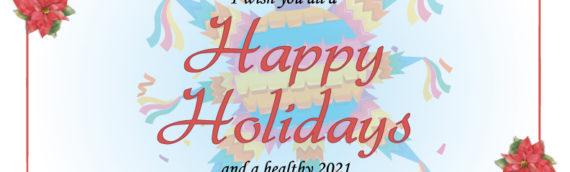 Online Holiday Celebration