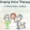"Invitation: EAP Course ""Singing Voice Therapy"""